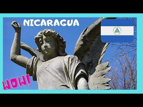 NICARAGUA: EXPLORING CENTRAL AMERICA'S Extravagant CEMETERY  In GRANADA