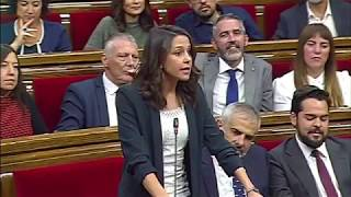 Cataluña vota independencia con tensión al final del pleno