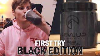 BLACK EDITION LEVLUP Unboxing, Geschmackstest UND Review! *Black Friday*