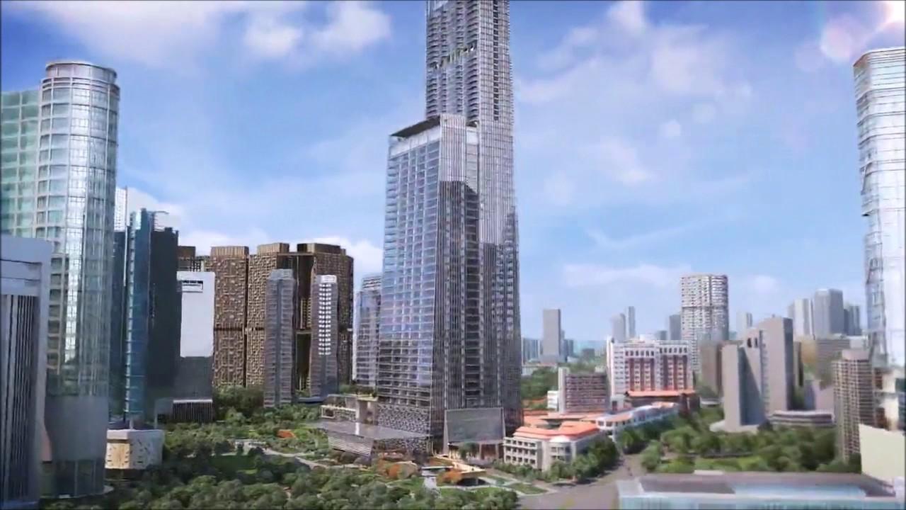 Tanjong pagar centre singapore tallest building youtube - Singapore tallest building swimming pool ...
