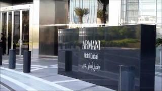Armani Hotel Burj Khalifa Dubai.wmv