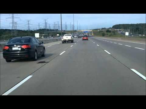 Toronto Tourism: Highway 407 ETR (Westbound) & Highway 400 (Northbound)