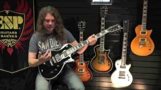 pat heath esp ltd ec401 metal soloing in a major tonality
