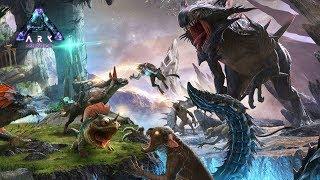 恐竜だらけの地下世界でサバイバル生活! - ARK Aberration ゆっくり実況#1