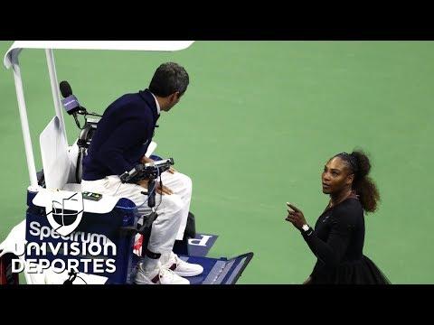 Te contamos por qu茅 se origin贸 el esc谩ndalo entre Serena y el juez de silla en la final del US Open