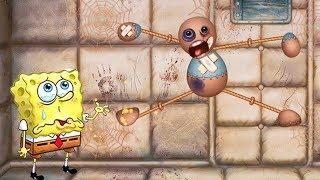 Spongebob Mini Games vs The Buddy (New Chemical)#5 - Spongebob Game