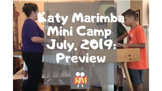 Katy Marimba Mini Camp: Day 2  Check out the progress!