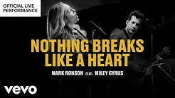 "Mark Ronson ft. Miley Cyrus - ""Nothing Breaks Like a Heart"" Official Performance 