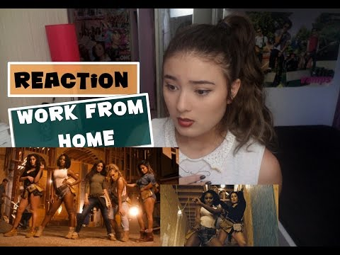 Work From Home (Feat. Ty Dolla $ign) - Fifth Harmony [REACTION]