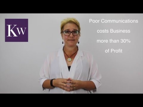Kylie Warry - The cost of Poor Communication