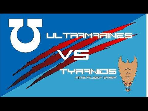 1500 Pts of Tyranids Vs Ultramarines