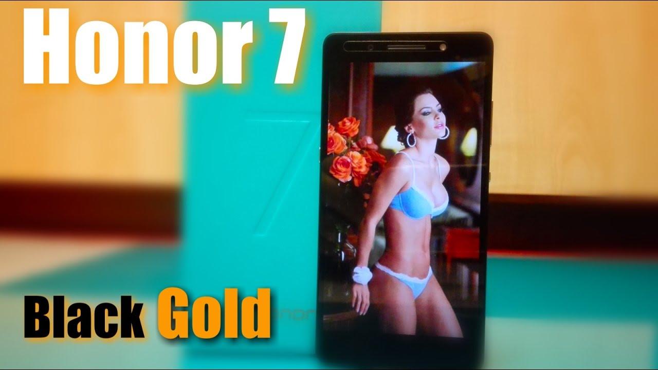 Honor 7,TL01H, Black Gold, Сильный Камерофон ! распаковка и обзор.
