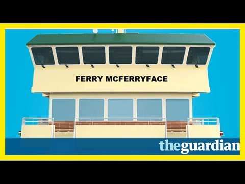 Sydney ferry named ferry mcferryface: the joke arriving late at circular quay