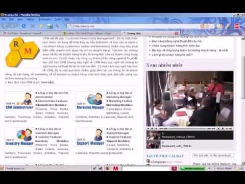 Hướng Dẫn Cài Đặt vTiger CRM (Tiếng Việt) trên Windows (ver 5.0.4)