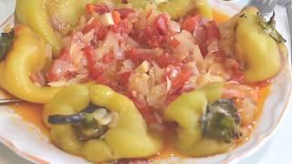 Жареный болгарский перец по молдавски