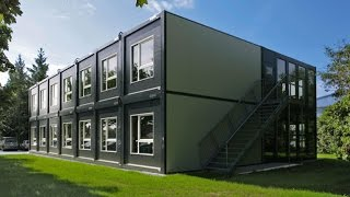 видео Временные, модульные здания и сооружения |