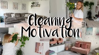 SPEED CLEAN WITH ME | CLEANING MOTIVATION | POWER HOUR 60 MINUTE CLEAN | Lucy Jessica Carter
