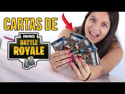 Las INCREÍBLES cartas coleccionables de FORTNITE | Fortnite Battle Royale