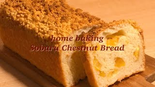 (학생베이킹)05년생 집에서 존맛탱 소보로 밤 식빵 만…