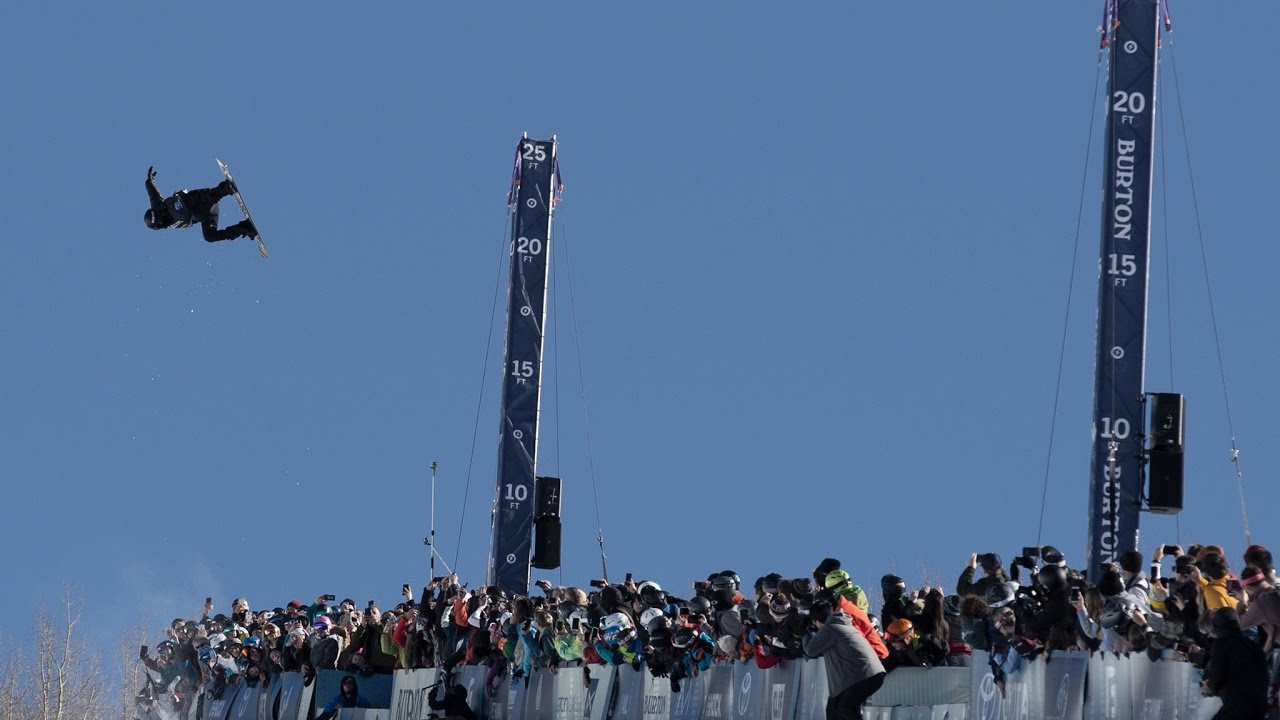 Shaun White Wins Halfpipe Finals at the 2017 US Open - Full Video Highlights #1