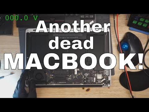 Why does Macbook Air board draw 150mA and not turn on?