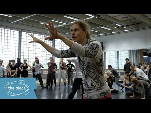 Olivier Award winner Crystal Pite talks about working with our students