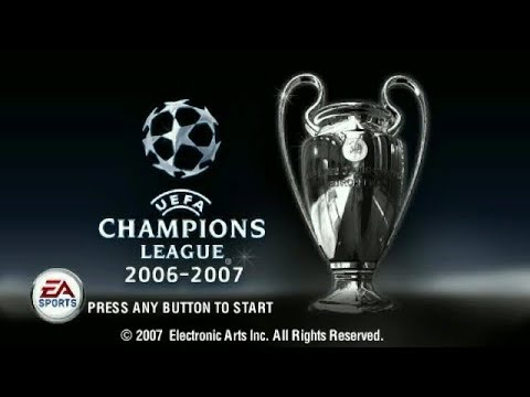 UEFA Champions League 2006–2007 PSP Playthrough - Manchester United