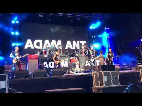Adam Ant - 'Ants Invasion' Let's Rock Southampton 7/7/2018