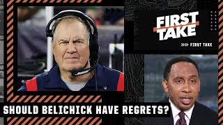 Stephen A. explains why Bill Belichick should regret letting Tom Brady leave the Pats | First Take