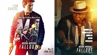 Mission Impossible Fallout, 09, Stairs and Rooftops, Soundtrack, Lorne Balfe