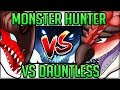 How Good is Dauntless - All You NEED to Know - Dauntless VS Monster Hunter World! (Review/Fun)