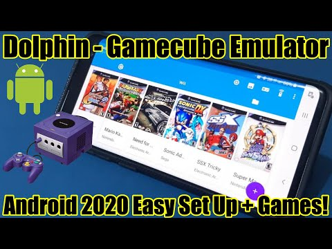 Dolphin - Gamecube Emulator - Android 2020 - Easy Set Up + Games!