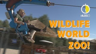 AtoZ60: There are more than just animals at Wildlife World Zoo