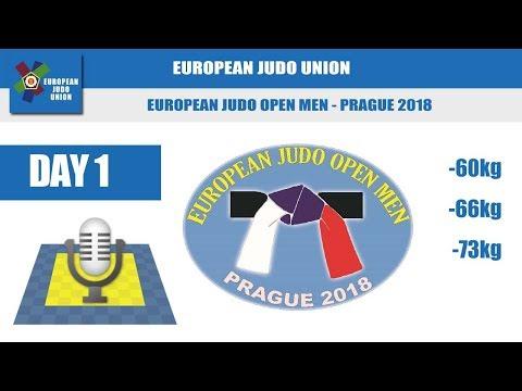 European Judo Open Men - Prague 2018 - Day 1