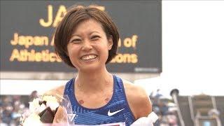 女子 800m 決勝 第103回日本陸上競技選手権大会