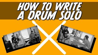 how to write a drum solo
