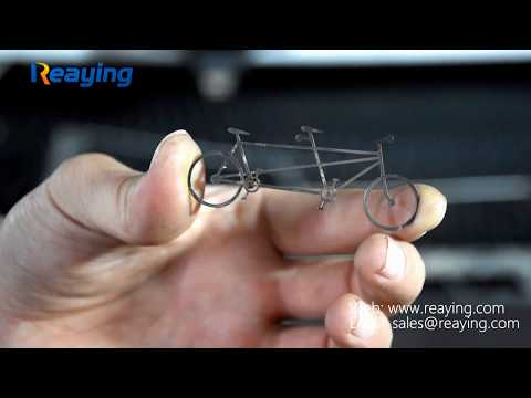 Reaying DIY stainless steel crafts precision cutting