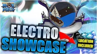 ELECTRO FIGHTING STYLE FULL SHOWCASE AND WHERE TO GET | Blox Piece ~ ROBLOX