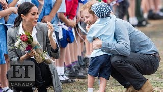 Prince Harry & Meghan Markle's Cutest Moments With Kids