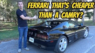 I Bought The Cheapest Ferrari 348 In The Usa With Almost 100 000 Miles Youtube