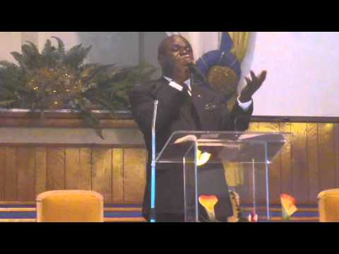 Pastor Elisee Joseph, at Bethel SDA church, Sabbath March 19, 2016