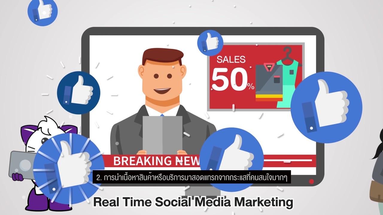 03 เรียนรู้การตลาดผ่านสื่อสังคมออนไลน์อย่างไรให้ได้ผล