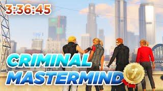 GTA Online Criminal Mastermind Speedrun 3:36:45 WR (Original Heists)