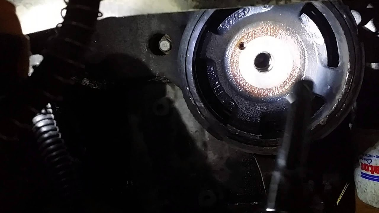 Kia Optima 2 7l Harmonic Balancer Removal Youtube