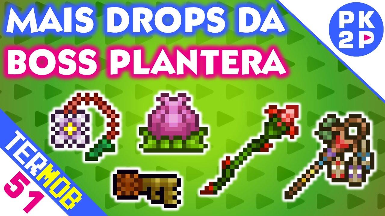 Dropando Chaves E Armas Da Plantera Terraria Mobile 51 Youtube