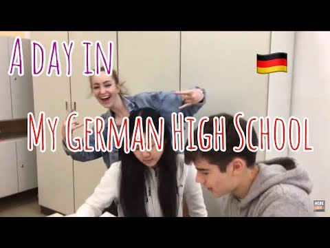 A day in German school | English class | Gymnasium Brandis