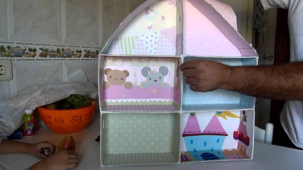 Www Como Hacer Una Casa Para Barbie Con Reciclaje Hacer