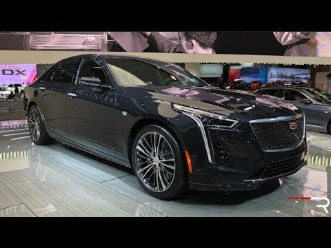 2019 Cadillac CT6 V-Sport 4.2TT – Redline: First Look – 2018 NYIAS
