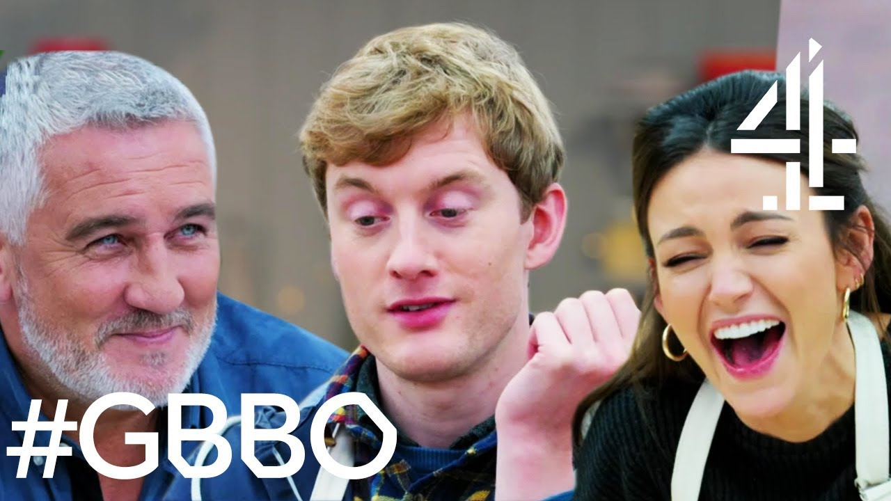 James Acaster's HILARIOUS Bits from Bake Off! | Celebrity Bake Off for SU2C image