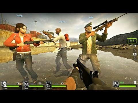 Left 4 Dead 2 - Half-Life 2: Water Hazard Custom Campaign Gameplay Playthrough